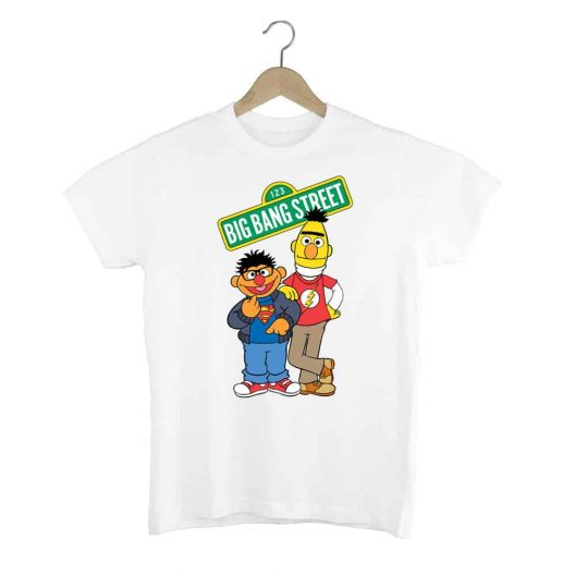 Camiseta Big Bang Muppets